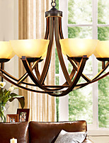 5 Chandelier ,  Traditional/Classic Painting Feature for Mini Style Metal Living Room / Bedroom / Dining Room