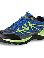 Men's Sneakers Spring / Summer / Fall / Winter Comfort PU / Fabric Outdoor Flat Heel Blue / Green / Royal Blue Hiking