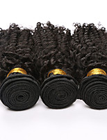7a Brazilian Virgin Hair 3 Bundles Brazilian Kinky Curly Virgin Hair Afro Kinky Curly Hair deep Curly human hair Weave