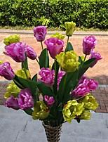 1 1 Филиал Полиэстер / Пластик Другое Букеты на пол Искусственные Цветы 39.76Inch/101cm