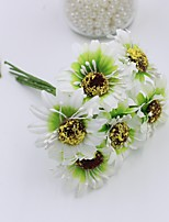 Hi-Q 1Pc Decorative Flower Hand Bouquet Orchids Wedding Home Table Decoration Artificial Flowers