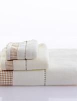Set asciugamani da bagno- ConTintura- DI100% cotone-Wash Towel Size:26*50cm(10.2*19.7linch) Hand Towel Size:34*76cm(13.4*29.9linch) Bath