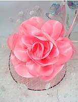 Christmas Women's Flower Girl's Fabric Formal Hat Hair Clip