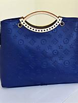 Для женщин Полиуретан На каждый день / Для отдыха на природе / Для шоппинга Сумка-шоппер / Вечерняя сумочка