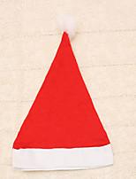1pc navidad ordinaria sombrero de los niños casquillo rojo de la decoración de los suministros de Navidad del banquete