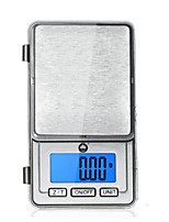 Electronic Jewelry Scales(Weighing Range: 100G/0.01G,Silvery)