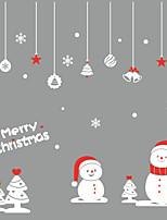 Christmas Window Sticker Contemporary , Art Deco 30.8*57cm