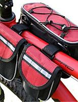 BATFOX® велосипед сумкаБардачок на руль / Бардачок на раму Пригодно для носки / Многофункциональный / Дышащий сумка велосипедовПолиэфир /