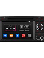7 owniceアウディA3 S3のGPS無線の「HD 1024 * 600クアッドコアアンドロイド4.4の車のDVDプレーヤー