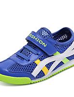 Per bambino-Sneakers-Casual / Sportivo-Comoda / Punta arrotondata / Ballerine-Piatto-Tulle / PU (Poliuretano)-Blu / Blu reale
