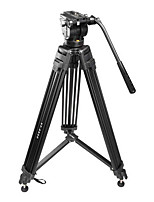 VT-2500 Professional Photography Camera Tripod Camera Tripod Hydraulic Damping Head Suit
