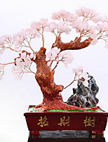 Resin Crystal Incurs the Wealth Tree Ornaments Opening Gifts Home Decoration