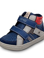 UOVO Boy's Sneakers Spring / Fall / Winter Comfort PU / Suede Casual Flat Heel Magic Tape Blue Others