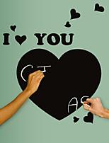 Big Heart I Love You Chalkboard Wall Stickers Fashion Kindergarten Wall Decals