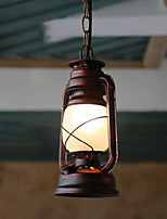 Retro Lamps old Classic Antique Balcony  Wrought Iron Chandelier Lantern
