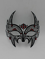 Medieval knight laser cutting hollow metal shield mask......6001B1