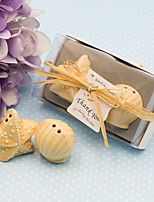 Beter Gifts® 1Box/Set - Beach Party theme Seashell and Starfish Pepper Shakers Wedding Favor