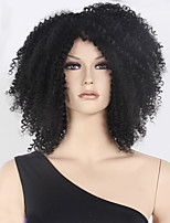Capless High Quality Synthetic Balck Long Curly Synthetic Wig