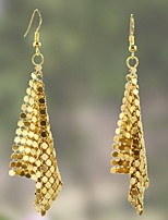 Earring Geometric Drop Earrings Jewelry Women Fashion Daily / Casual Alloy 1 pair Gold