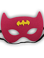 Girls / Boys Cartoon Hero / Halloween Mask, All Seasons Polyester Red
