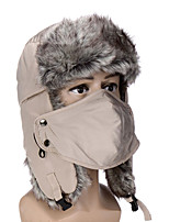 Chapka Hat / Fur Hat Ski Hat / Pollution Protection Mask Women's / Men's Thermal / Warm Snowboard PolyesterYellow / Pink / Gray / Purple