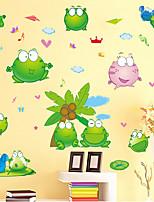 Животные / Натюрморт / Пейзаж Наклейки Простые наклейки Декоративные наклейки на стены / Наклейки на холодильник,pvc материалПоложение