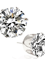 Alloy/Zircon Earring Stud Earrings Wedding/Party/Daily / Casual 1 pair