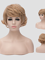 Europe and the United States a new style of short hair fluffy hair wig Synthetic Wigs
