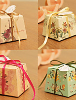 Trapezoidal Flower Blooming Small Candy Box (set of 12) Tile Delivery