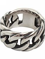 Муж. Классические кольца Мода бижутерия Титановая сталь Бижутерия Назначение Повседневные