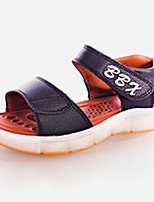 LED's Shoes Girl's Sandals Summer Sandals PU Casual Flat Heel LED Black / Blue / Brown / White Others