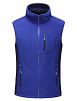 Outdoor Men's Tank / Fleece Jackets Camping & Hiking Comfortable / Thermal / Warm Autumn