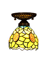 Sunflower Ceiling Lamps for Tiffany With 40W