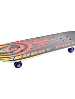 Classic Skateboard(70*51mm) Black+Red/Green+Red