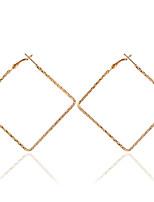 Alloy Hoop Earrings Fashionable Earrings Wedding/Party 1 pair