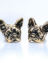 Earring Animal Shape,Jewelry 1 pair Fashionable Alloy Gold / Black / Silver Daily / Casual