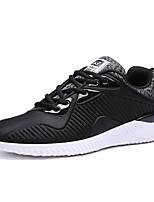 Hombre-Tacón Plano-Confort-Zapatillas de deporte-Deporte-Tejido-Negro / Azul / Gris