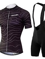 KEIYUEM® Summer Cycling Jersey Short Sleeves + BIB Shorts Ropa Ciclismo Cycling Clothing Suits #K116
