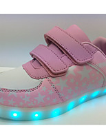 LED''s Shoes Unisex Sneakers Spring / Fall / Winter Styles Synthetic Outdoor / Athletic / Casual Flat Heel Blue / Pink