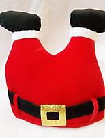 Flanella Decorazioni di nozze-1Piece / Set Ornamenti Natale Rustico Tema Rosso Primavera / Estate / Autunno / Inverno Non personalizzato