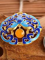 diy sieraden blauwe druk stijl legering charme