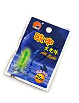Anmuka 2pcs/bag Fishing Fluorescent Lumious Lightstick Light Night Float Rod Lights Dark Glow Stick Useful
