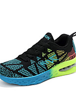 Men's Shoes Fashion Breathable Athletics Casual Fabric Fashion Sneakers Orange / Blue / Grey