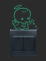 AYA™ DIY Luminous Stickers Super Bright Glow in the Dark Switch Sticker Wall Decor