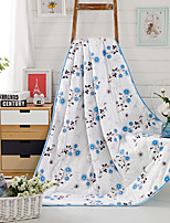 Floral / Botanical Printed 100% Mulberry Silk Quilt for Summer Air Conditioner Room W59