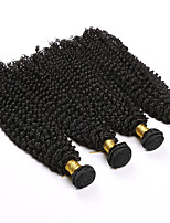7a grade brazilian kinky curly virgin hair 4pieces deep curly human hair weaves 100g/piece
