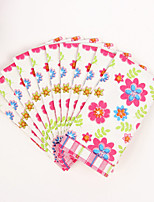 100% virgin pulp 50pcs Colorful flowers Wedding Napkins
