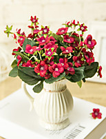 Hi-Q 1Pc Decorative Flower Orchids Wedding Home Table Decoration Artificial Flowers