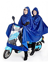 млрд 180T мужчин и женщин двойной электрический мотоцикл плащ пончо и увеличить расширение