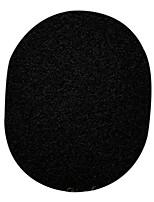 Keqi ® carbón de bambú negro cara y baño de esponja super limpio 1 pieza con la caja